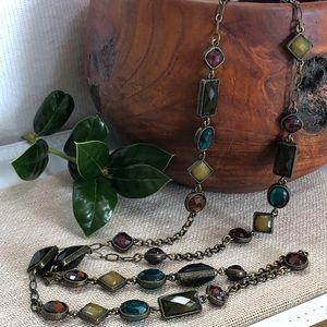 Vintage Avon Faux Gems Necklace